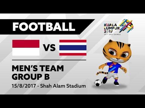 KL2017 Football - INA 🇮🇩 vs THA 🇹🇭 | 15/082017