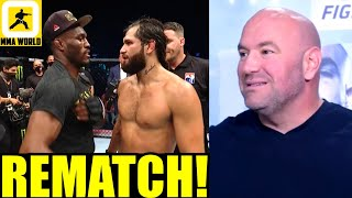 Dana White just announced 3 EPIC title fights for UFC 261 with full house of fans,Usman vs Masvidal