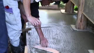 7 11 コンクリート樹脂コテと金コテの使い方