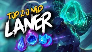 Top 20 MID LANER Plays #20 | League Of Legends