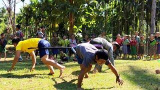 Karen Boys Play Funny Game In Toe Nyo Village