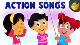 Action Songs 🏄🚴 | Watch your Favourite from the Best Nursery Rhymes Collection in MagicBox