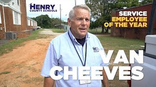Van Cheeves - 2018 HCS Hero - Service Employee OTY
