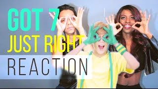 "GOT7   ""딱 좋아(Just Right)"" MV REACTION"