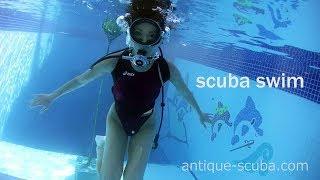 scuba swim