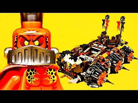 Vidéo LEGO Nexo Knights 70321 : La machine maudite du Général Magmar