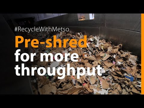 , title : 'Efficient cardboard recycling and pulping process
