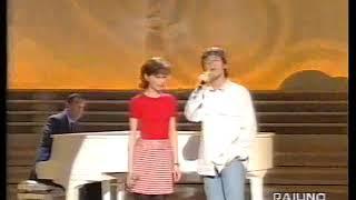 Antonella Bucci & Francesco Boccia - In Amore (live Domenica in 1995)