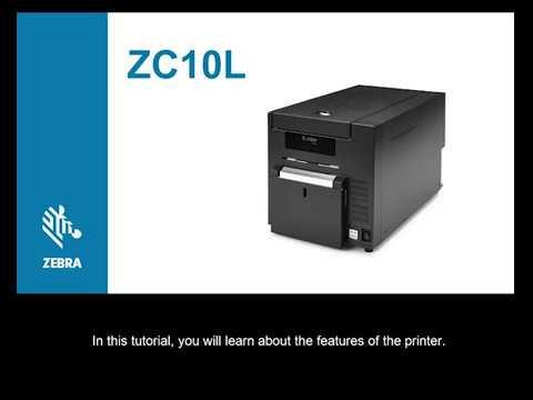Zebra ZC10L Large Format printer
