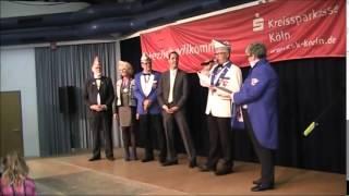 preview picture of video '2014  Verleihung der Ehrensenatorenwürde an Dieter Spürck, Beigeordneter der Stadt Kerpen'