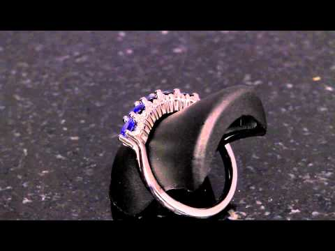 Sapphire Ring Designed By Christopher Michael .94 Carat