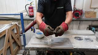 Cutting PorcelQuick 316L Stainless Steel Trims