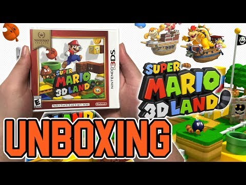 Super Mario 3D Land (Nintendo Selects) (3DS) Unboxing !!