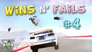 GTA V Racing WINS & FAILS #4 [Cunning Stunts]