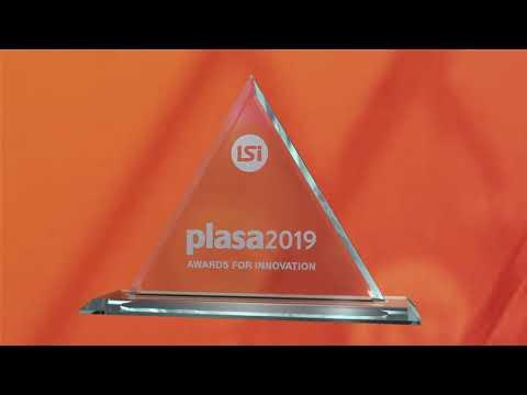 Artistic Licence sunDial wins Gold at PLASA 2019