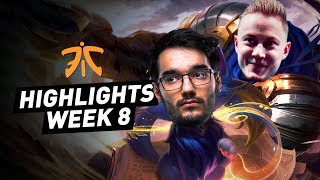 « The Garen/Yuumi Botlane », Highlights des Fnatic en semaine 8 du LEC