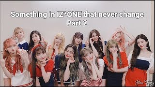 Something in IZ*ONE that never change   part 2