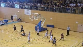 平成29年度山口県ミニバスケットボール夏季決勝大会男子決勝戦上宇部ー松崎