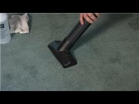 Carpet Cleaning : Home Remedies for Removing Spots & Stains from the Carpet
