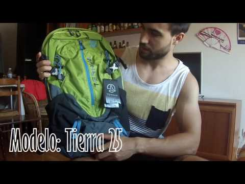 Unboxing Review Mochila Ternua Tierra 25