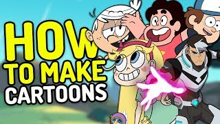 How Modern Cartoons Are Made! (Cartoon Network, Nickelodeon, Disney Channel & More!)