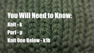 How To Knit The Fishermans Rib Stitch