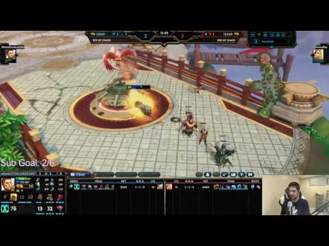 Smite: Duel Tournament!   A- tier and below   Hercules vs Isis   Finals   Game 2