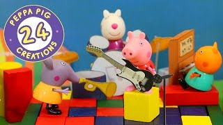 Peppa Pig Creations 24 - Music with Peppa Pig And Mandy Mouse! (new 2017) #PeppaPig
