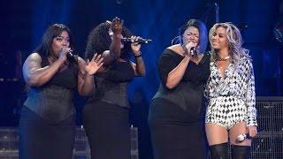 "Beyoncé Backing Vocalist: Montina Cooper ""Beyoncé Works Hard"" (Formation Tour)"