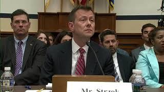 PART 2: Explosive FBI Agent Peter Strzok Hearing On Anti-Trump Bias
