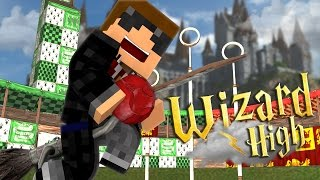 I'M A WIZARD?! | Minecraft Wizard High | S:1 Ep.1 Minecraft Roleplay