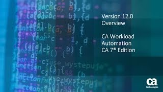 CA Workload Automation AutoSys - SDK Demo - Educate