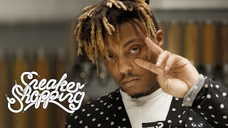Juice WRLD Goes Sneaker Shopping With Complex