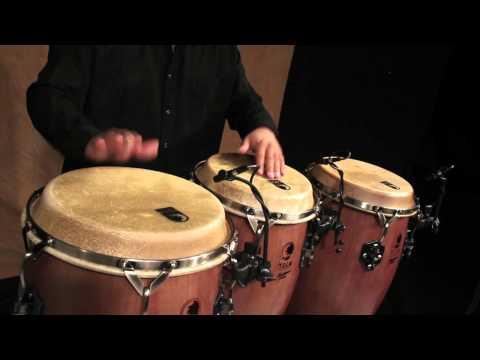Georgie Padilla Performs in the Toca Percussion Studio