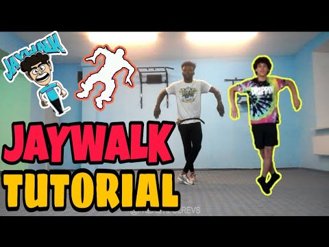 JAYWALK TUTORIAL - HOW TO DO THE JAYWALK    Professional For Beginners and Pros   Complete Breakdown