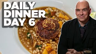 Cook Along With Michael Symon   Burger And Barley Stew   Daily Dinner Day 6