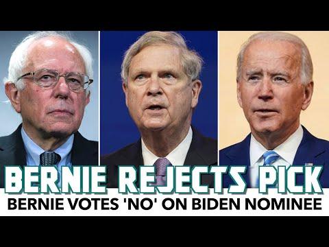 Bernie Votes 'NO' On Biden Nominee
