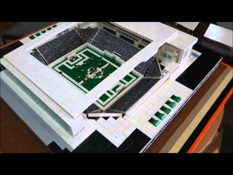 Arena Corinthians feita com 3 mil peças de lego