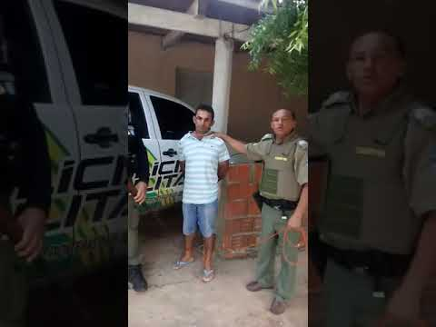 Prisão de Jonis Uelson de Sousa, vulgo Januelson, em Alagoinha do Piauí