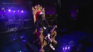 ASAP Rocky Performs LONG.LIVE.A$AP/Wild For The Night On David Letterman