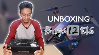 Unboxing Drone MJX Bugs 12 EIS