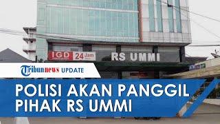 Polisi akan Panggil Pihak RS Ummi yang Diduga Halangi Satgas Covid-19 Bandung Periksa Rizieq Shihab