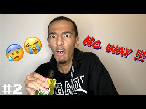 MY REACTION to Big Roll - dried seaweed! 😣