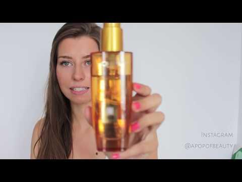 Video, wie das trockene Haar zu behandeln