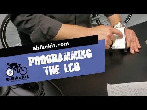 E-BikeKit | Programming Your LCD