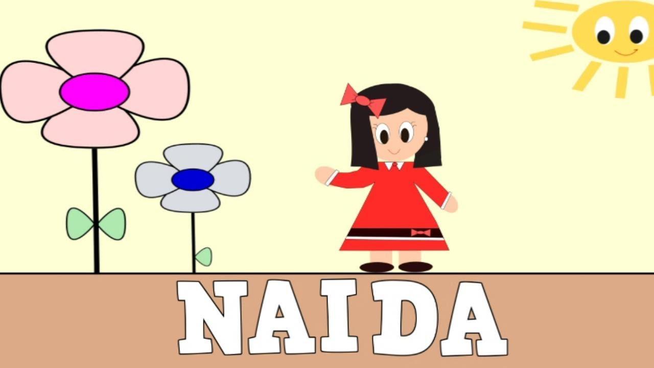 Aprender a Leer y Escribir NAIDA - Vídeos educativos para Niñosy Bebés - Paty y Poty