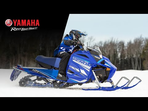 2021 Yamaha SXVenom in Speculator, New York - Video 1
