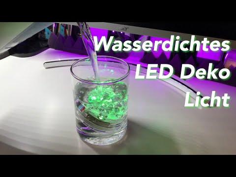Wasserdichtes LED Deko Licht - Lass die Wanne leuchten... oder was auch immer :
