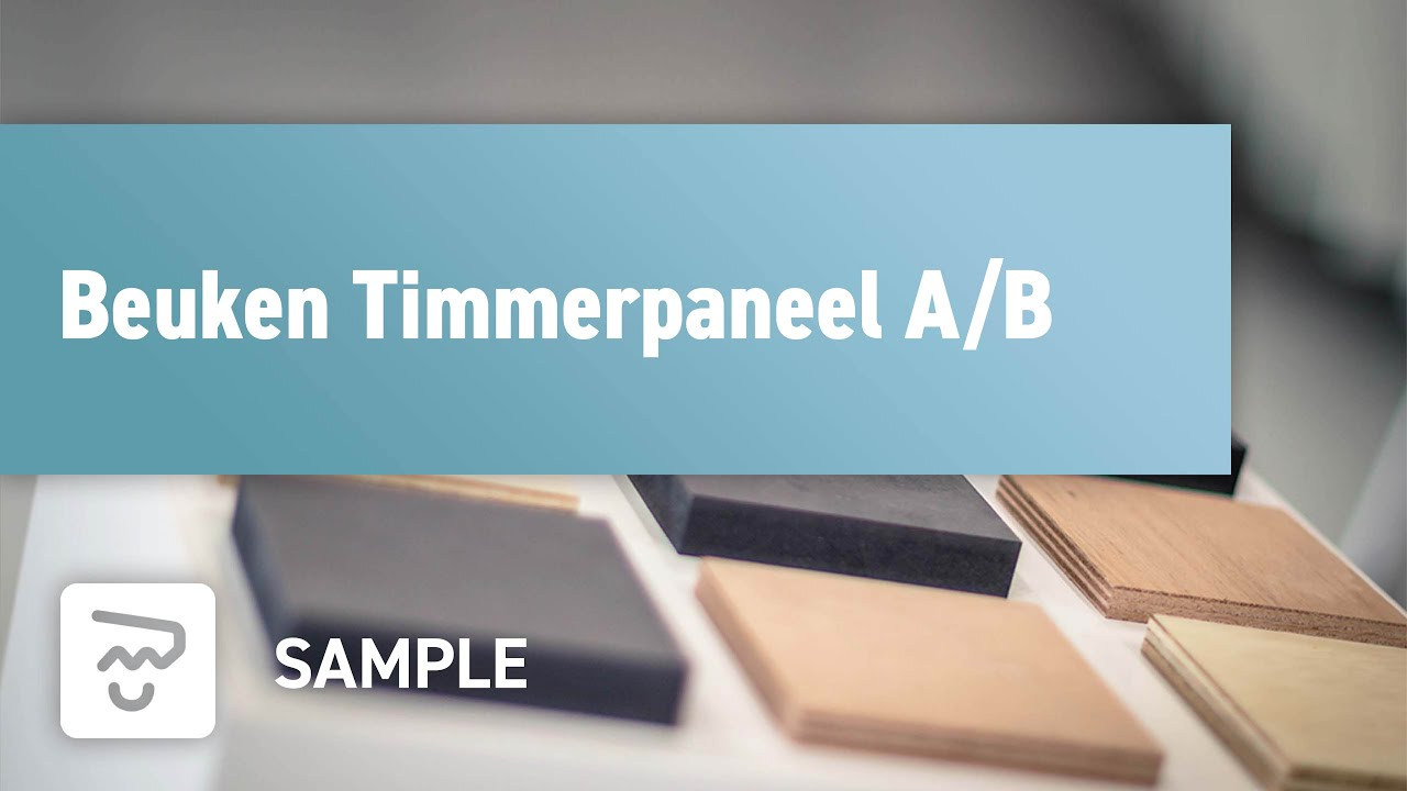 Beuken Timmerpaneel A/B