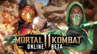 Mortal Kombat 11 Online Beta - Первый запуск (PS4) #1